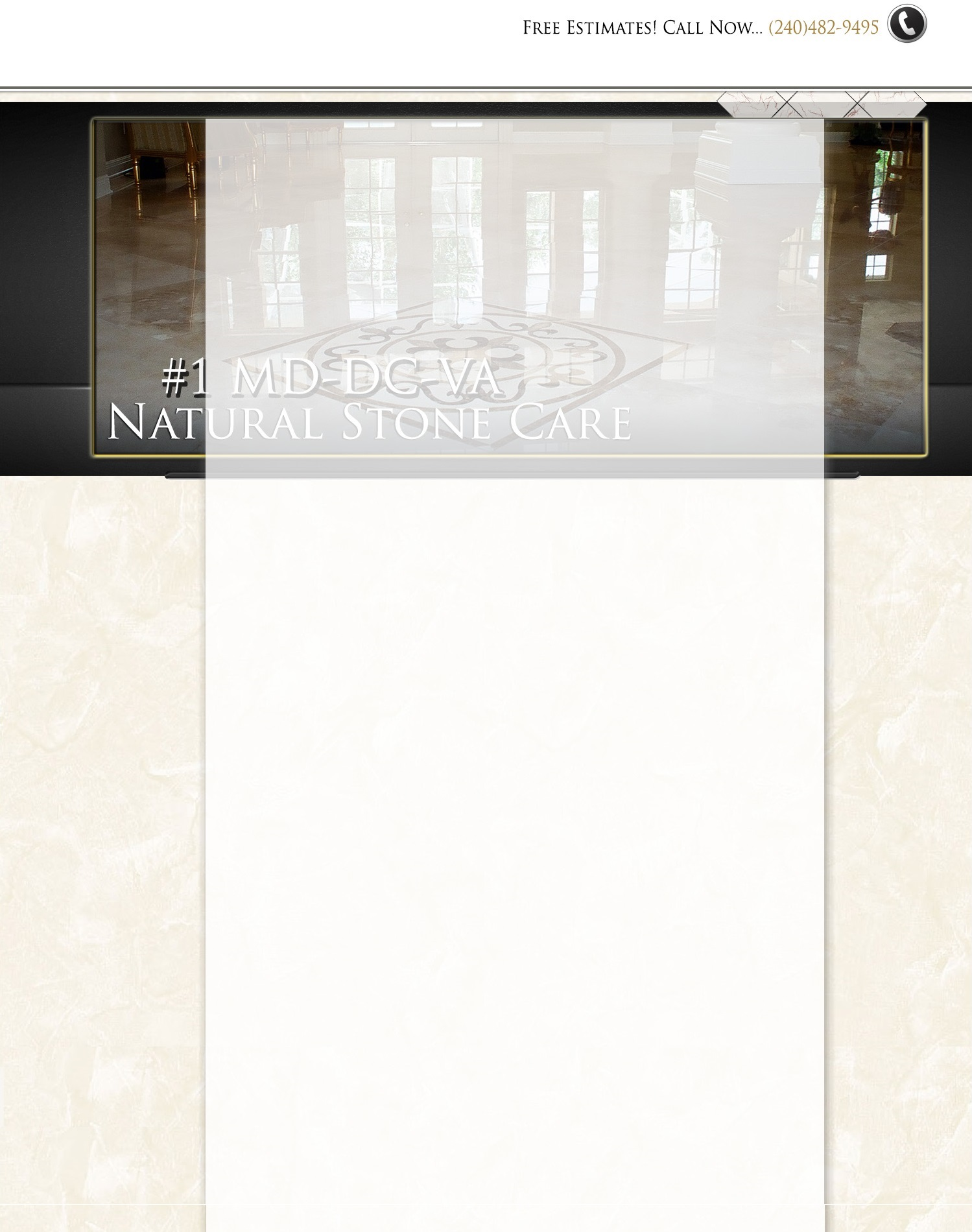 Natural Stone Restoration In Washington Dc Virginia Maryland
